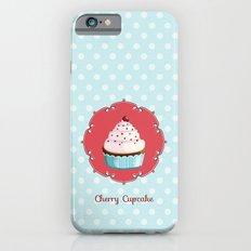 Cherry cupcake iPhone 6s Slim Case
