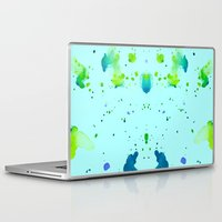 watercolour Laptop & iPad Skins featuring Watercolour by Amarinda