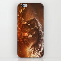 Fire with Horses iPhone & iPod Skin