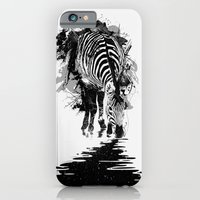 iPhone & iPod Case featuring Stripe Charging by nicebleed