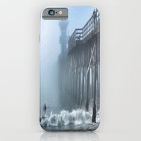 Foggy Morning at the Beach iPhone 6 Slim Case