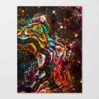 The Many Rants Of Charli… Canvas Print