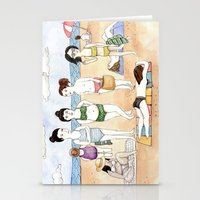 Beach Babes Stationery Cards