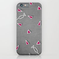 iPhone & iPod Case featuring Concrete & Mice by no.216