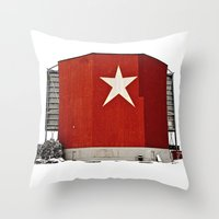 Star-Lite Snow Throw Pillow