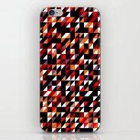 Sumi Retro Quilt iPhone & iPod Skin