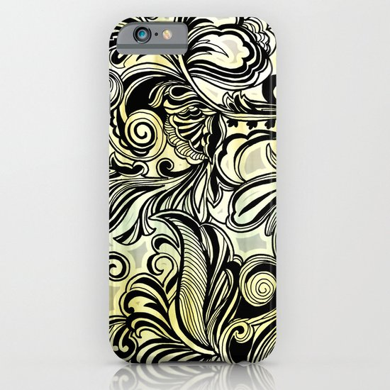 Swirl and Curl iPhone & iPod Case