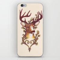 Stag Illustration 1/6 iPhone & iPod Skin