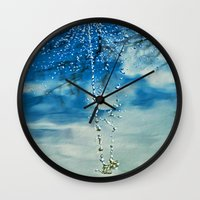 WATER JEWELS Wall Clock