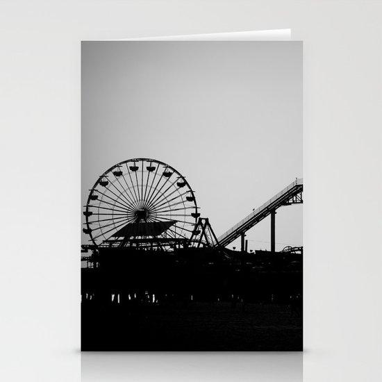 Santa Monica Pier Stationery Card
