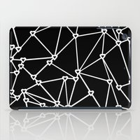 Abstract Heart Zoom Blac… iPad Case