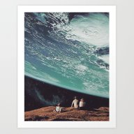 Art Print featuring Astronomical Limits Coll… by TRASH RIOT