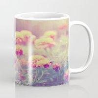 Retro Vintage style - flowers Mug