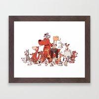 Good Dogs Framed Art Print