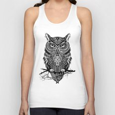 Warrior Owl 2 Unisex Tank Top