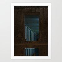 Architecture De Nuit #1 Art Print