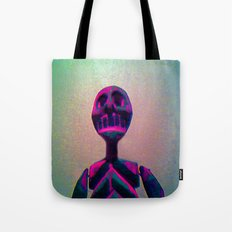 RED SKELETON Tote Bag