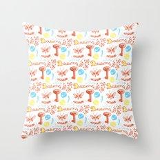 pattern II Throw Pillow