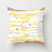 Mood Study (II) - Sunday Morning Throw Pillow
