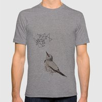 Northern Flicker Mens Fitted Tee Athletic Grey SMALL
