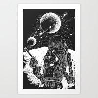 Duke Of The Moon Art Print
