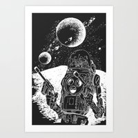 Duke Of The Moon Art Print