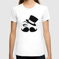 mustache T-shirts featuring mustache  by LCMedia