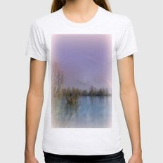 Lakeside Impression Womens Fitted Tee Ash Grey SMALL