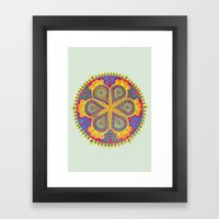 Mandala #2 Framed Art Print
