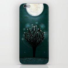 the midnight tree iPhone & iPod Skin