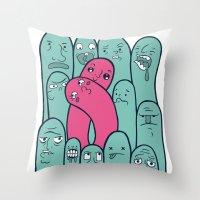 Break The Mold  Throw Pillow