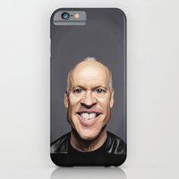 iPhone & iPod Case featuring Celebrity Sunday ~ Michael Keaton by Rob Snow