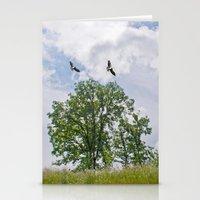 The buzzard tree Stationery Cards