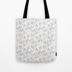 Doodle Cats Tote Bag