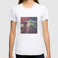 Beyond The Shores Of Rea… Womens Fitted Tee Ash Grey SMALL