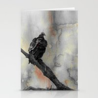 Perched Vulture Stationery Cards