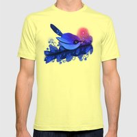 Blue Bird Mens Fitted Tee Lemon SMALL