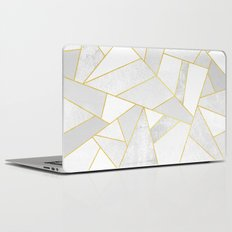 White Stone Laptop & iPad Skin