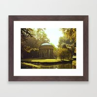 Temple of Love Framed Art Print