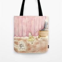 Dance Request Tote Bag