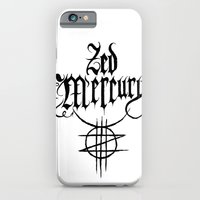 ZED MERCURY: PSYCHOPOMP LOGO - White iPhone 6 Slim Case
