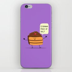 Trouble Caker! iPhone & iPod Skin
