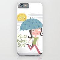 Keep Trying Sun! iPhone 6 Slim Case