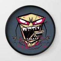 Chest burst of Doom Wall Clock