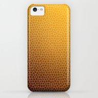 Orange Abstract Pattern iPhone 5c Slim Case