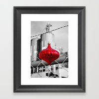 Industrial Yuletide Framed Art Print