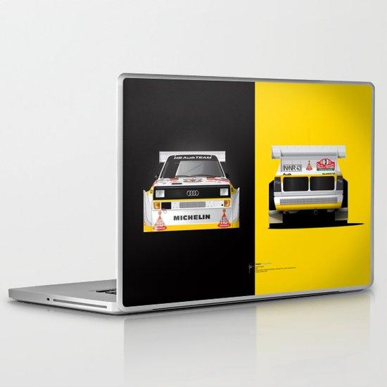 Group B Edition, N.º3, Audi Quattro S1 Laptop & iPad Skin