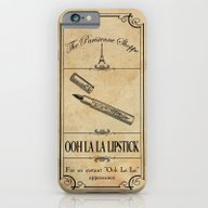 Paris Shoppe - Lipstick iPhone 6 Slim Case