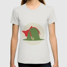 COUNTRYSIDE MOOD Womens Fitted Tee Silver SMALL