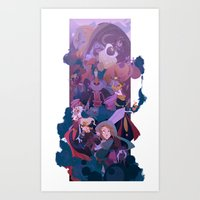 Boss Battle Art Print